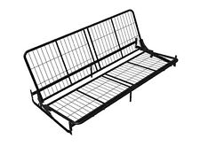 Dorel Home Products Black Metal Futon Frame for Wood Arms - 3151096 NEW