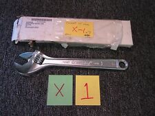 """CRESCENT 12"""" CRESTOLOY WRENCH USA TOOL 1-5/16 ADJUSTABLE MILITARY SURPLUS NEW"""