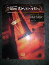 EZ PLAY Songbook #198 Songs In 3/4 Time ... Original Edition