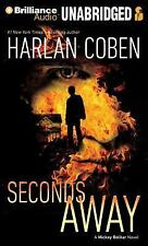 Seconds Away by Harlan Coben   (Unabridged Audiobook on CDs)