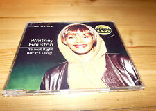 Whitney Houston - It's Not Right But It's Okay -  CD Single/EP