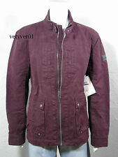 NWT CALVIN KLEIN Jeans Military/Field/Off Road Coated Canvas Cotton Jacket - XXL