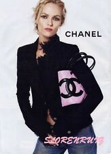 CHANEL MOST WANTED AD CAMPAIGN LITTLE BLACK JACKET FRINGED BLAZER 04P 38 36