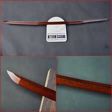 Folded steel blade Red Long bo-hi for japanese sword KATANA sharp can cut bamboo