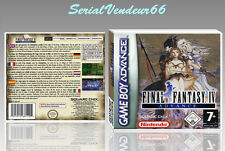 "BOITIER DU JEU ""FINAL FANTASY 4 ADVANCE"", GAME BOY ADVANCE, FR. SANS LE JEU."