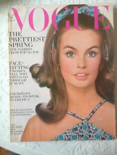 VOGUE US February 15, 1968 Collection Vintage Fashion Mode