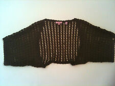 Ted Baker Brown Shrug/Cardigan  Knit/Crochet Size S/M