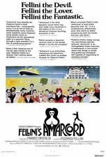 AMARCORD Movie POSTER 27x40 Magali Noel Bruno Zanin Pupella Maggio Armando