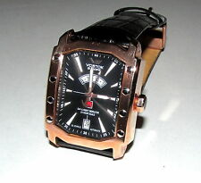 VOSTOK EUROPE ARKTIKA ATOMIC ICEBREAKER RUSSIAN AUTO DAYNIGHT 24HR BLACK WATCH