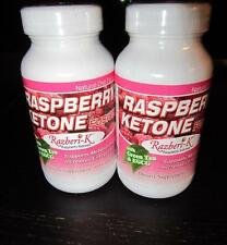 ((2 BOTTLES ))RASPBERRY KETONE FUSION W/GREEN TEA & EGCG  60 CAPSULES ~NEW ~
