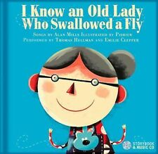 I Know an Old Lady Who Swallowed a Fly by Alan Mills (2014, Picture Book) NEW