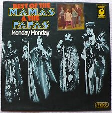 'BEST OF THE MAMAS AND THE PAPAS - MONDAY MONDAY',  LP, 1974 UK (SPR 90025)