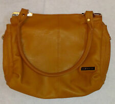 Women's Ladies Handbag Designer Purse Shoulder Travel Bag Mustard Leather Clutch