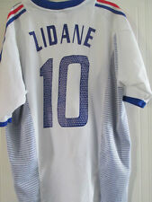 France 2002-2004 Away Zidane 10 Football Shirt Size XL /38089