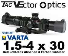 Vector Optics tactique viseur Mustang 1.5-4 x 30 avec picatinny montage