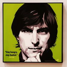 Steve Jobs canvas quotes wall decals photo painting framed pop art poster