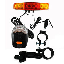 LED Tail Light 36V Scooter E-bike Turn Signal Rear Lamp Electric Bicycle