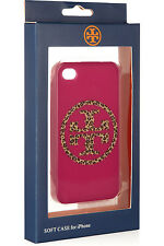 TORY BURCH LEOPARD PRINT LOGO IPHONE 4/4S FITTED CASE