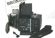 Zenza Bronica ETRSi classico 6 x 4.5 Compresse Telecamera + Zenzanon EII 1:2 .8 F = 75mm lente.