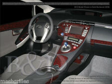 TOYOTA PRIUS WOOD DASH KIT FOR PRIUS W/O HEADS-UP DISPLAY IN REAL CARBON FIBER