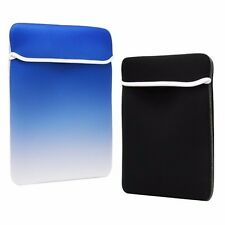 13-Inch Faded Royal Blue Reversible Sleeve Bag for Macbook /Air /Pro /Chromebook