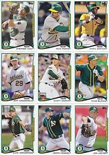 2014 Topps Update Oakland Athletics Team Set 18 Different Cards w/6 All-Stars