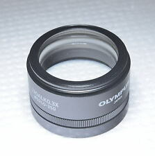 Olympus SZ51 SZ61 Microscope Objective 110ALK 0.3X wt Adjustable WD 250 to 350mm