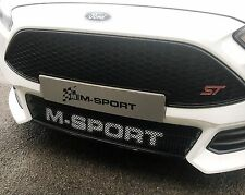 M-Sport World Rally Team WRC Style Lower Grille For Ford Focus Mk3 ST 2015