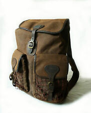 """SUPERB BARBOUR """" BEACON """" BROWN WAX RUCKSACK / BACKPACK BAG -  £179 NEW XCON"""