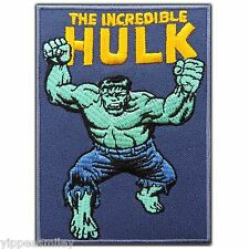The Hulk Cartoon Kids Superhero Avenger Movie Embroidered Iron-On Patches #0636