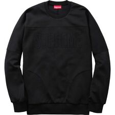 SUPREME Track Crewneck Black M box logo safari F/W 14 camp kate moss 3 6 maf