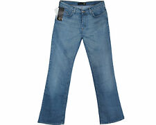 GENUINE BRAND NEW JUST CAVALLI BLUE DENIM WIDE LEG MENS JEANS SIZE 31