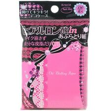 Kracie Japan Petit Moi Hyaluronic Acid Moisture Oil Blotting Paper (120 sheets)