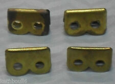 WW1 WW2 p08 p37 1in 25mm brass webbing ends