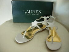Authentic Ralph Lauren Valeda Women's Sandals Size 7 White