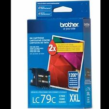 Brother LC79C XXL Cyan Ink Cartridge LC-79 Genuine New Sealed