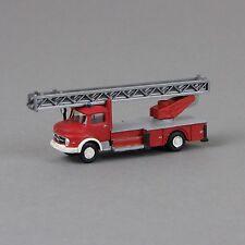 1:160 Spur N Umbausatz Feuerwehr Drehleiter für Lemke Minis Mercedes LKW L322