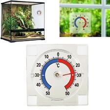 Thermomètre auto-adhésif pour fenêtre ou terrarium - Idéal extérieur & intérieur