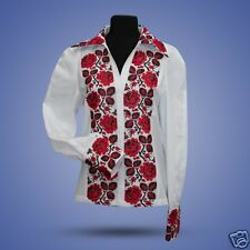 Ukrainian embroidered traditional shirt for ladies, blouse, sorochka vyshyvanka.