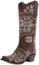 New Lane Boots Ladies Yaretzi Multi Colored Embroidered Snip Boot LB0208C SZ 7.5