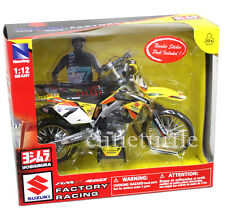 New Ray 57677 Suzuki RM-Z450 Factory Racing Dirt Bike 1:12 #7 James Stewart