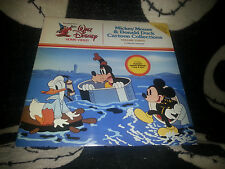 Mickey Mouse & Donald Duck Cartoon Collection Vol3 Laserdisc Disney Free Ship$30