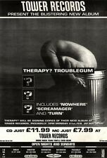 12/2/94pgn10 THERAPY? : TROUBLEGUM ALBUM ADVERT 15X11""