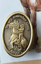 WW1 The Light Horse Badge *ANZAC Day* The Great War*