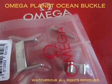 Omega Seamaster Planet Ocean 20 mm hebilla Ancho 7mm Lengua 100% Original