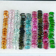 29.37 Cts/135 Pcs Natural Tourmaline Wholesale Multi Color Untreated Gemstones