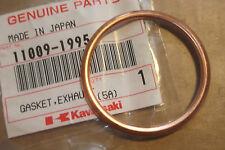 KAWASAKI KX125 KDX200 KDX220 Original nos De Escape Brida Junta de # 11009-1995