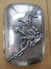 Antique Silverplate Art Nouveau Soap Box Dish Pairpoint Mfg - Beautiful