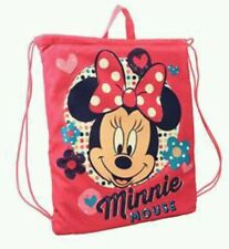 Disney Minnie Mouse Pink Convertible Drawstring Bag Tote and Beach Towel