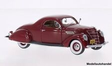 Lincoln Zephyr Coupe dunkelrot 1937 1:43 Neo 45750